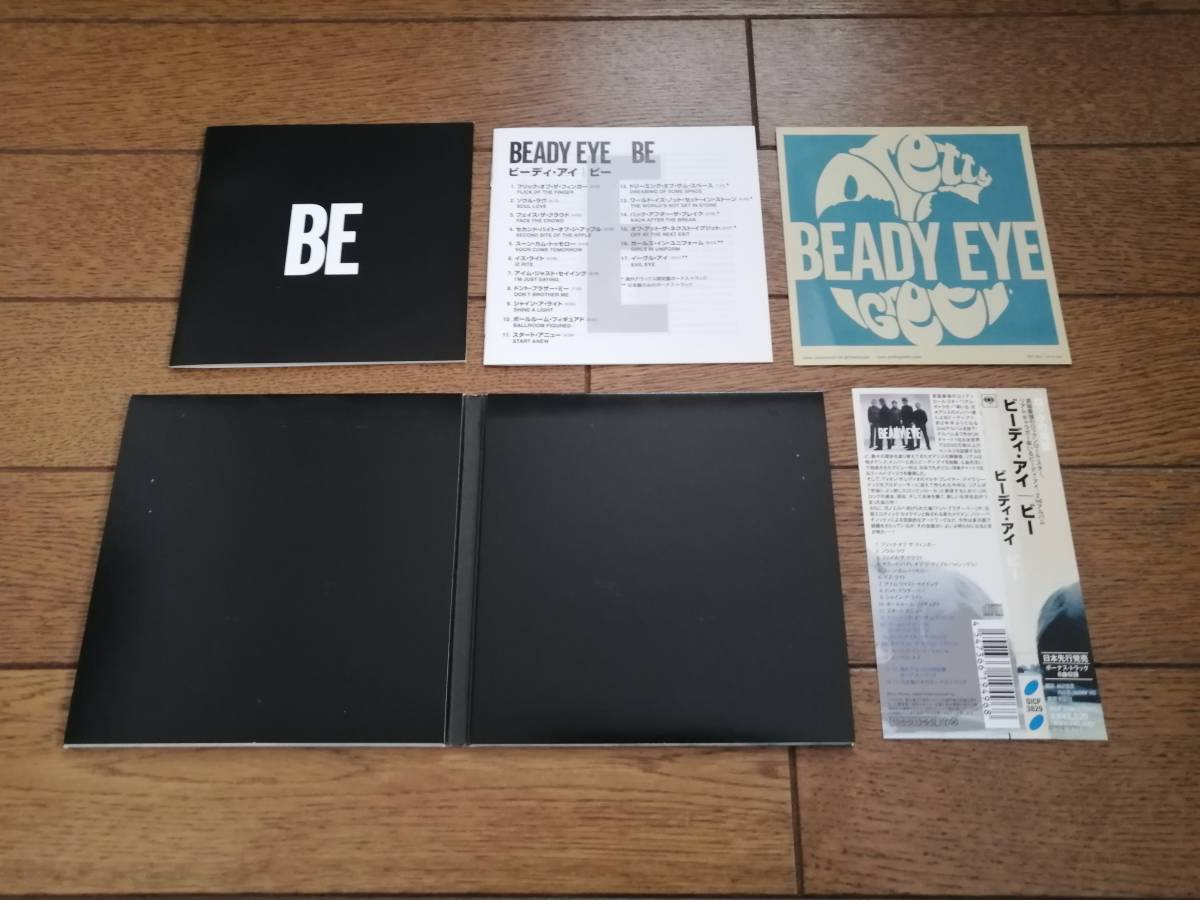 Beady Eye「ディファレント・ギア、スティル・スピーディング 初回生産限定盤 DVD 帯付き」「ビー 国内盤初回限定仕様 ステッカー 帯付き」