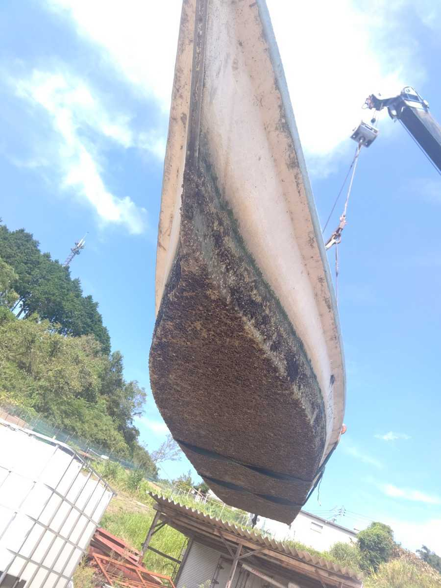 「川船 うなぎ船 鰻船 ウナギ船 ウナギ漁 鰻漁 うなぎ漁 漁業 漁師 トーハツ船外機 船外機付き TOHATSU 8馬力 M8B 小型ボート」の画像2