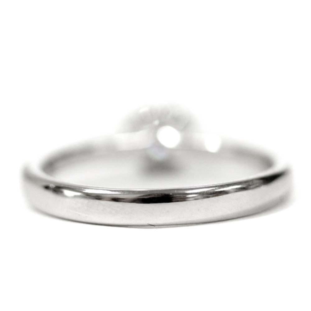 即決 フォーエバーマーク リング・指輪 レディース K18ゴールド ダイヤモンド ジュエリー 11.5号 ホワイトゴールド_画像5