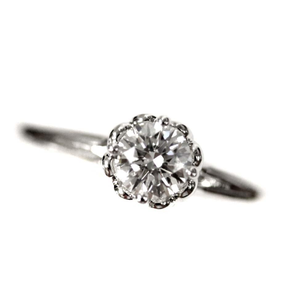 即決 フォーエバーマーク リング・指輪 レディース K18ゴールド ダイヤモンド ジュエリー 11.5号 ホワイトゴールド_画像3