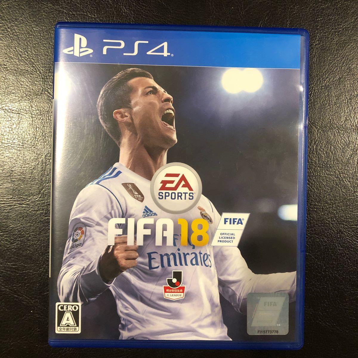 FIFA 18 【プレステ4用ソフト】