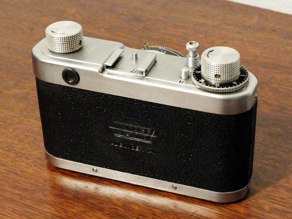【珍品/ジャンク扱い】フォス ディアクセッテ〈カッサー45mm f2.8搭載〉 : W.Voss Diaxette〈with Cassar45mm f2.8〉_画像2