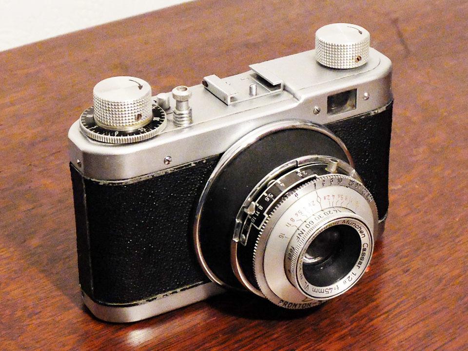 【珍品/ジャンク扱い】フォス ディアクセッテ〈カッサー45mm f2.8搭載〉 : W.Voss Diaxette〈with Cassar45mm f2.8〉_画像3