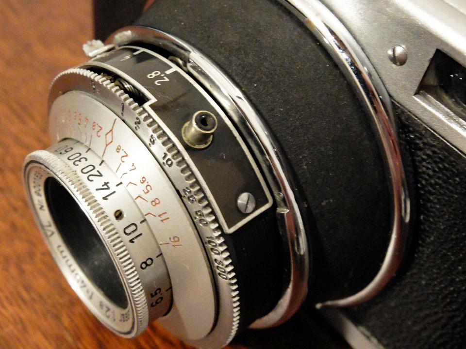 【珍品/ジャンク扱い】フォス ディアクセッテ〈カッサー45mm f2.8搭載〉 : W.Voss Diaxette〈with Cassar45mm f2.8〉_画像8