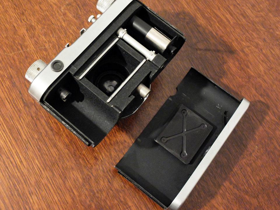 【珍品/ジャンク扱い】フォス ディアクセッテ〈カッサー45mm f2.8搭載〉 : W.Voss Diaxette〈with Cassar45mm f2.8〉_画像6