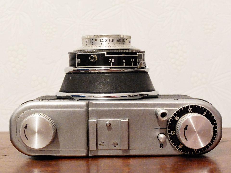 【珍品/ジャンク扱い】フォス ディアクセッテ〈カッサー45mm f2.8搭載〉 : W.Voss Diaxette〈with Cassar45mm f2.8〉_画像4
