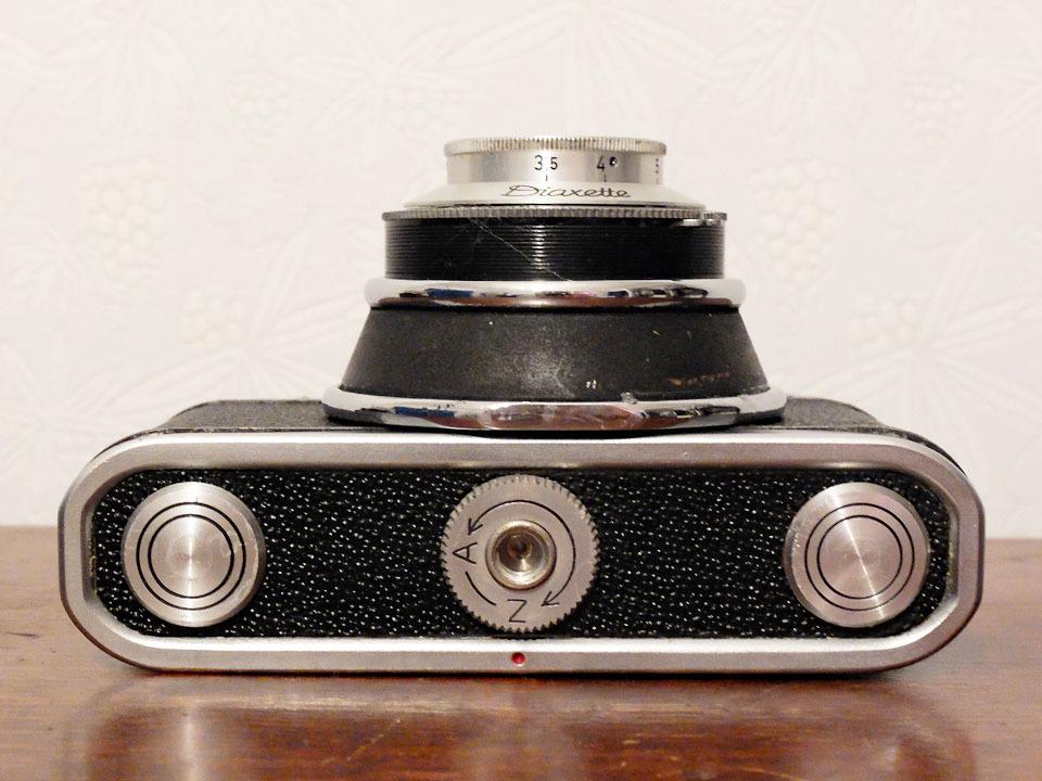 【珍品/ジャンク扱い】フォス ディアクセッテ〈カッサー45mm f2.8搭載〉 : W.Voss Diaxette〈with Cassar45mm f2.8〉_画像5