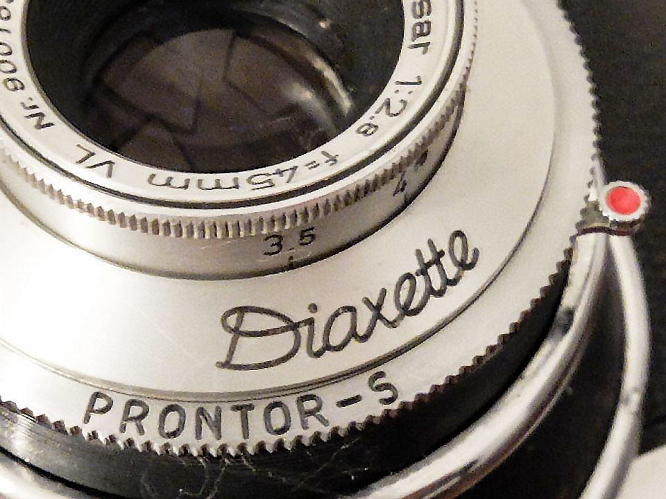 【珍品/ジャンク扱い】フォス ディアクセッテ〈カッサー45mm f2.8搭載〉 : W.Voss Diaxette〈with Cassar45mm f2.8〉_画像9