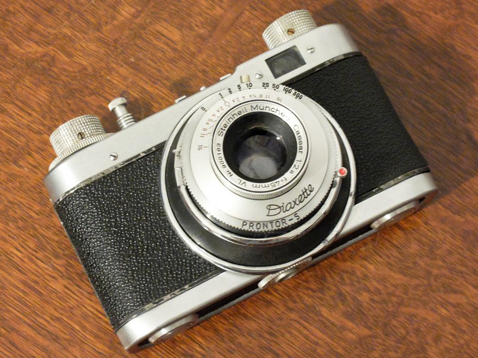 【珍品/ジャンク扱い】フォス ディアクセッテ〈カッサー45mm f2.8搭載〉 : W.Voss Diaxette〈with Cassar45mm f2.8〉_画像10