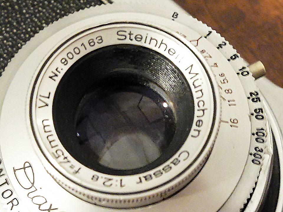 【珍品/ジャンク扱い】フォス ディアクセッテ〈カッサー45mm f2.8搭載〉 : W.Voss Diaxette〈with Cassar45mm f2.8〉_画像7