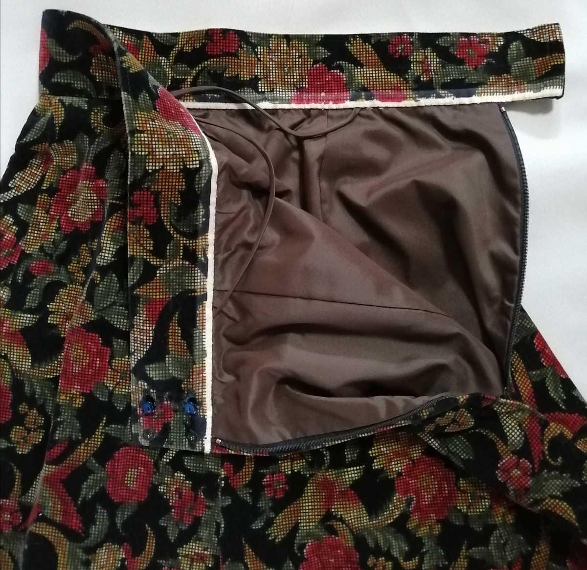 テーラードジャケット スカート レディース 花柄