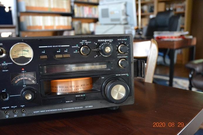 ソニー ICFー6800 FM/AM/SW(短波放送)対応スリーバンドラジオ