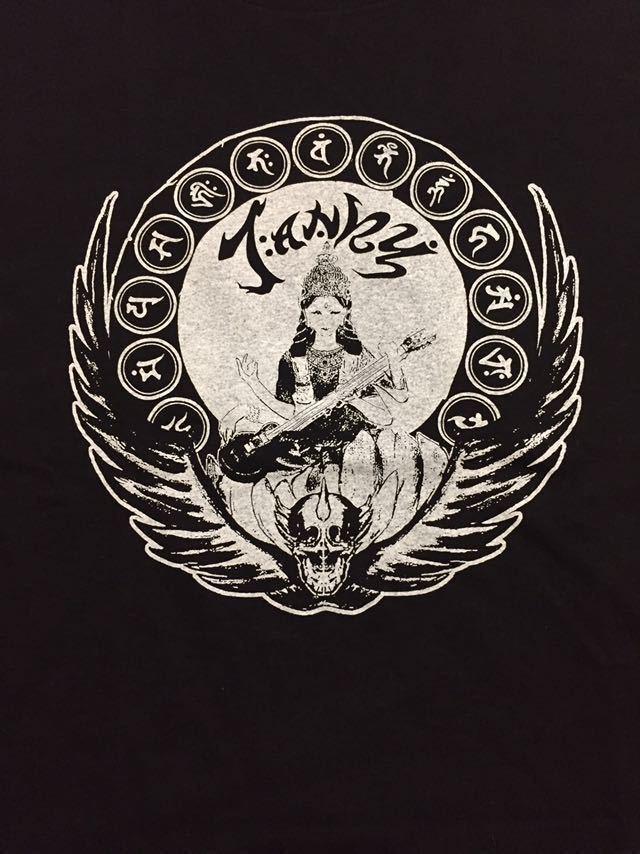 【新品】完売品 JANKY オフィシャルTシャツ 黒 Lサイズgism gauze zouo lip cream ghoul mobs outo 愚鈍 bastard systematic death sob_画像1
