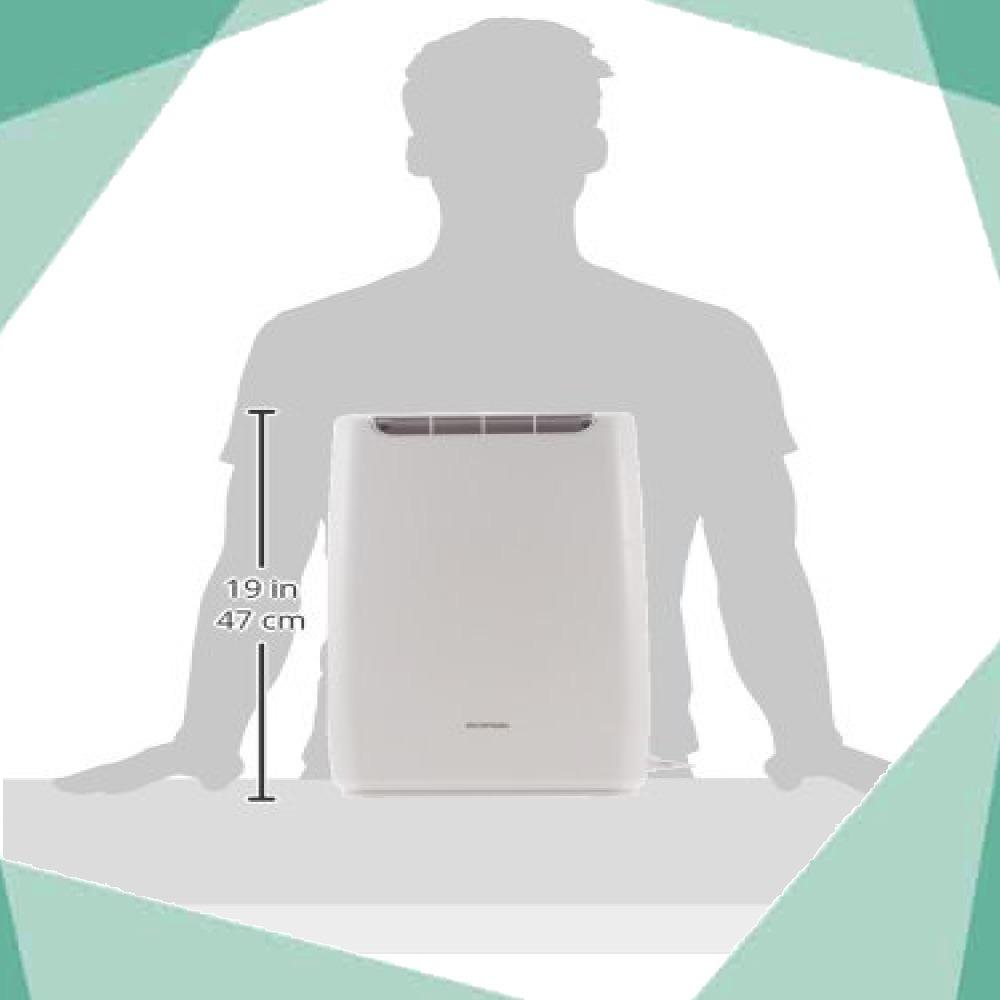 アイリスオーヤマ 衣類乾燥コンパクト除湿機 タイマー付 静音設計 除湿量 2.0L デシカント方式 DDB-20_画像8