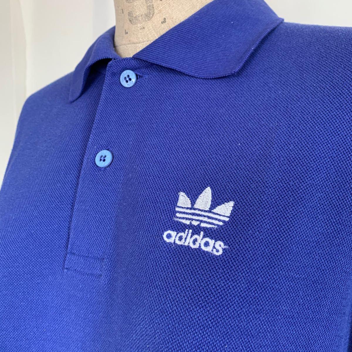 adidas アディダス 90s ロゴ刺繍ポロシャツ