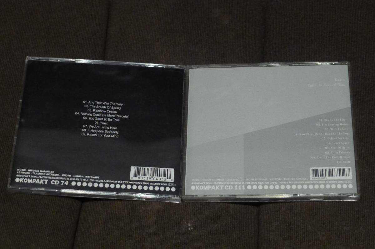 Kaito アルバム2作セット Trust, Until The End Of Time / Hiroshi Watanabe, Kompakt, Transmat, Derrick May
