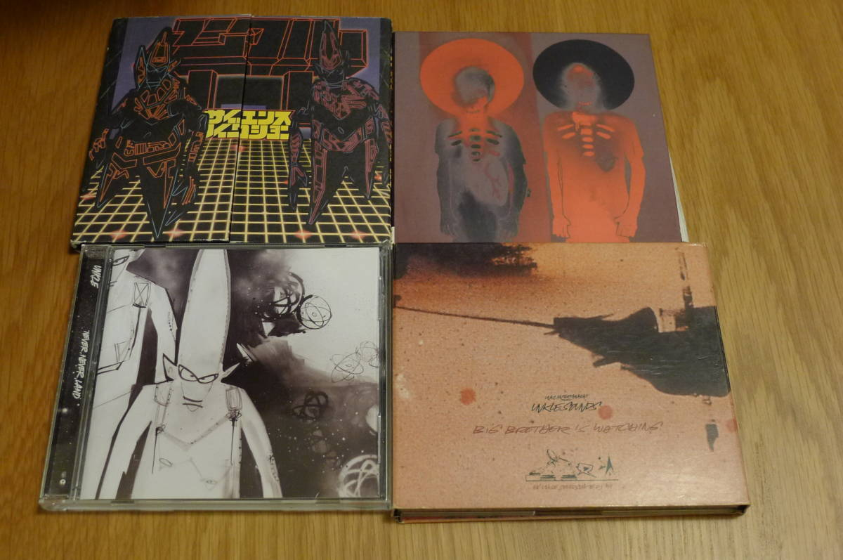 Unkle アルバム4作5枚セット Psyence Fistion, Never Never Land, War Stories, Big Brother Is Watching / Thom Yorke DJ Shadow