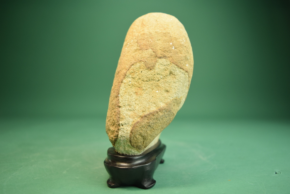 利根川石(盆景 水石 鑑賞石 飾り石)ID5075_画像2