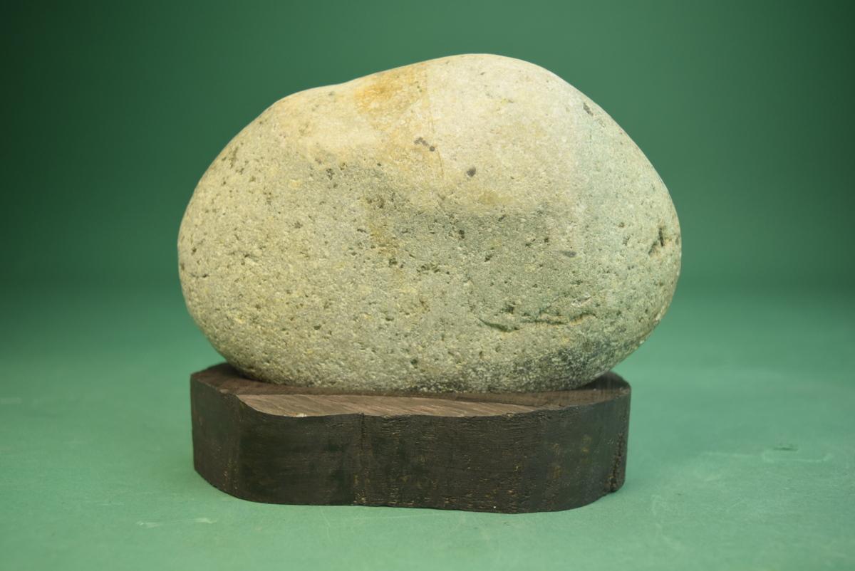 群馬県 利根川石(盆景 水石 鑑賞石 飾り石)ID5123_画像3