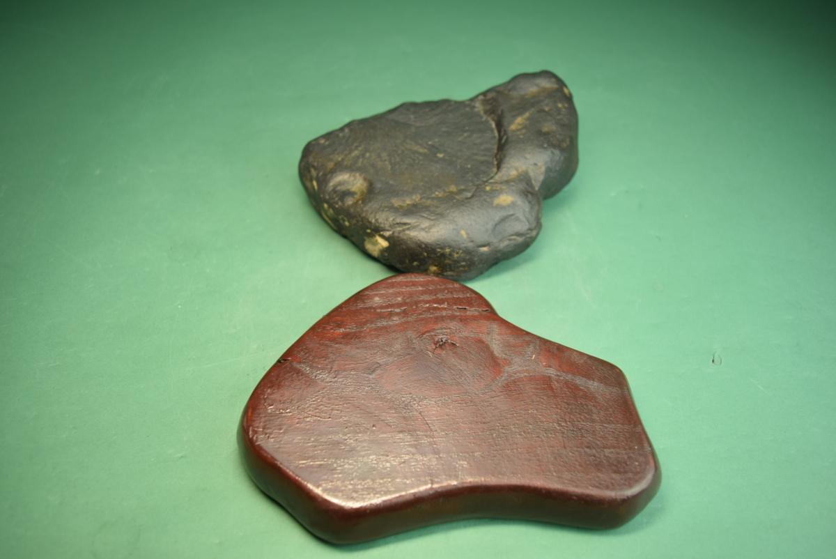 利根川石(盆景 水石 鑑賞石 飾り石)ID5105_画像9