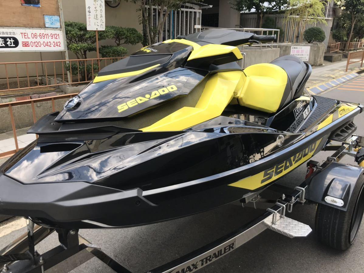 「【琵琶湖艇】seadoo GTR215 2016年式」の画像1