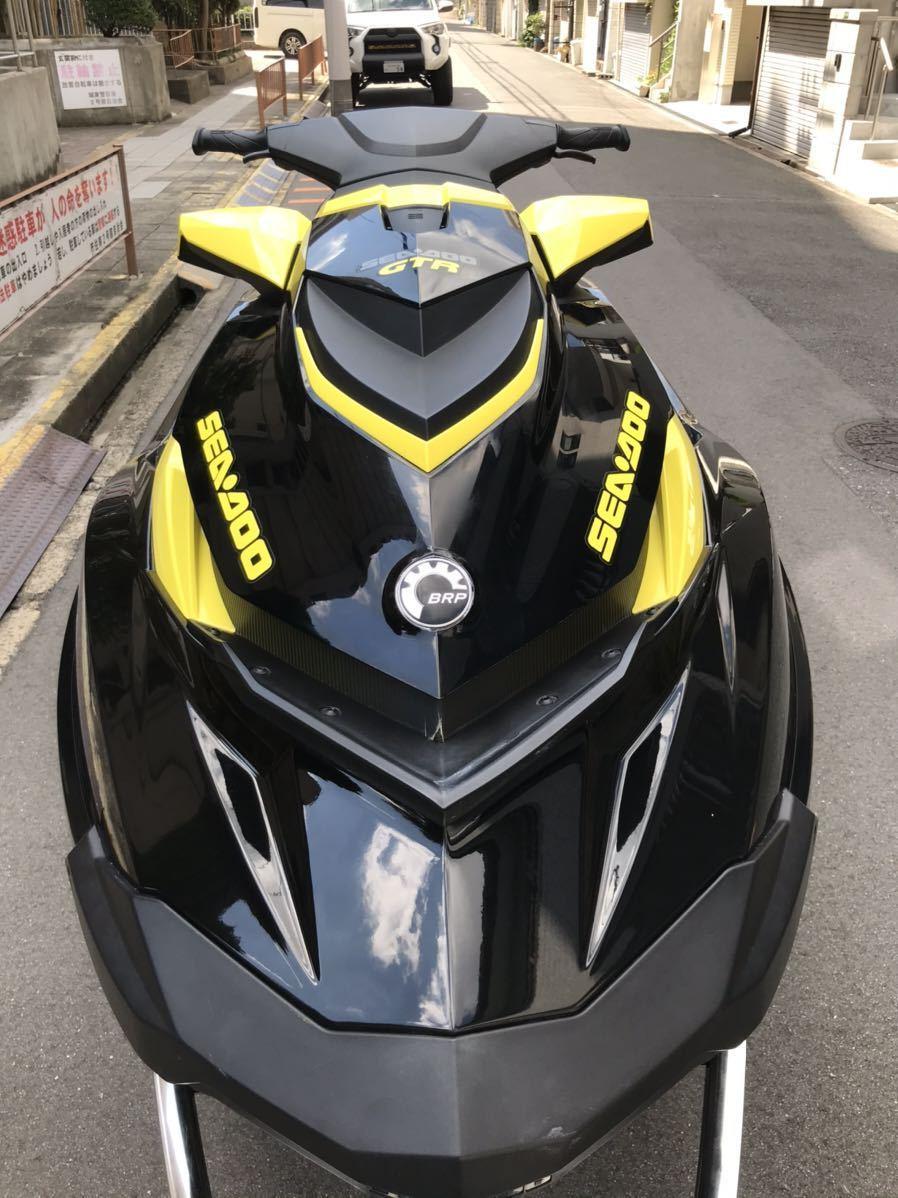 「【琵琶湖艇】seadoo GTR215 2016年式」の画像3