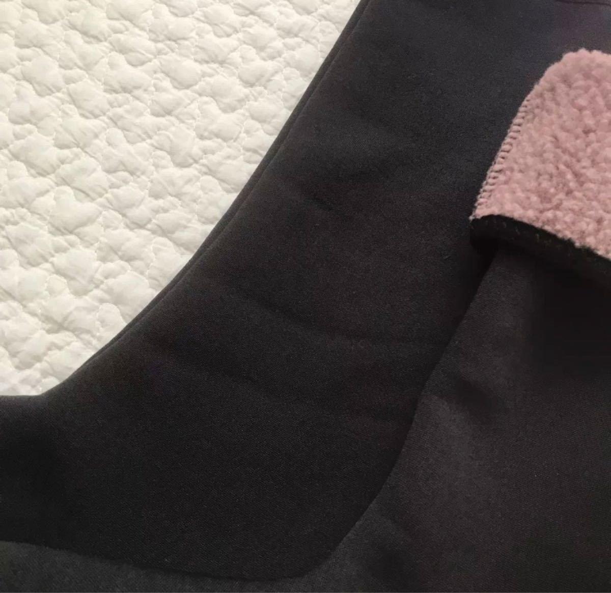 韓国冷えとり靴下ソックスロングポソンルームシューズルームウェアスリッパ室内履き黒