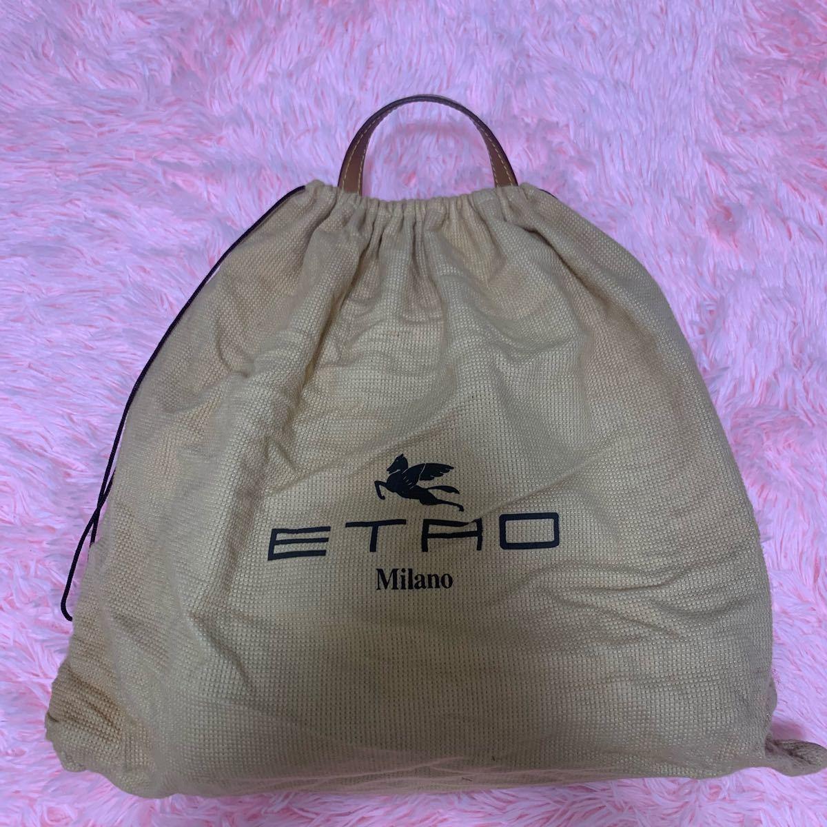トートバッグ エトロ ETRO ペイズリー柄 トートバッグ ハンドバッグ