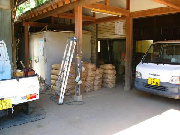新米コシヒカリ 令和2年産多古米玄米30㎏  農家直売数量限定_作業場です。