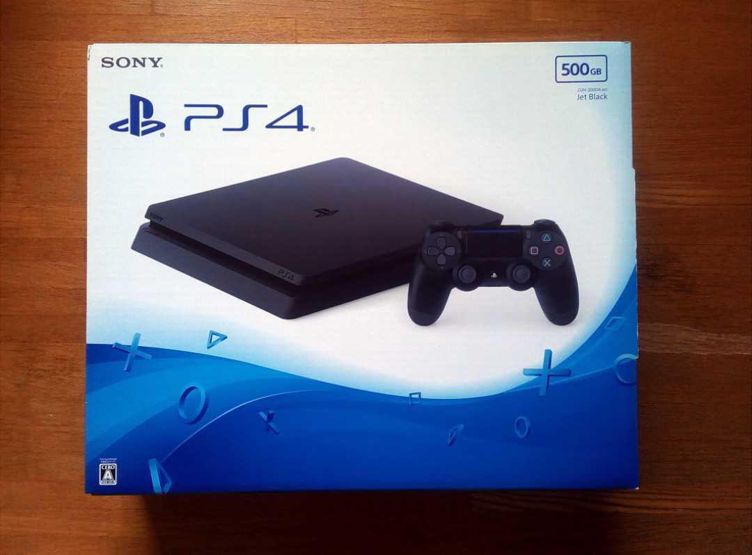 【完備品】PS4 本体 CUH-2000AB01 500GB  美品 使用感小 ソニー プレステ4_画像2