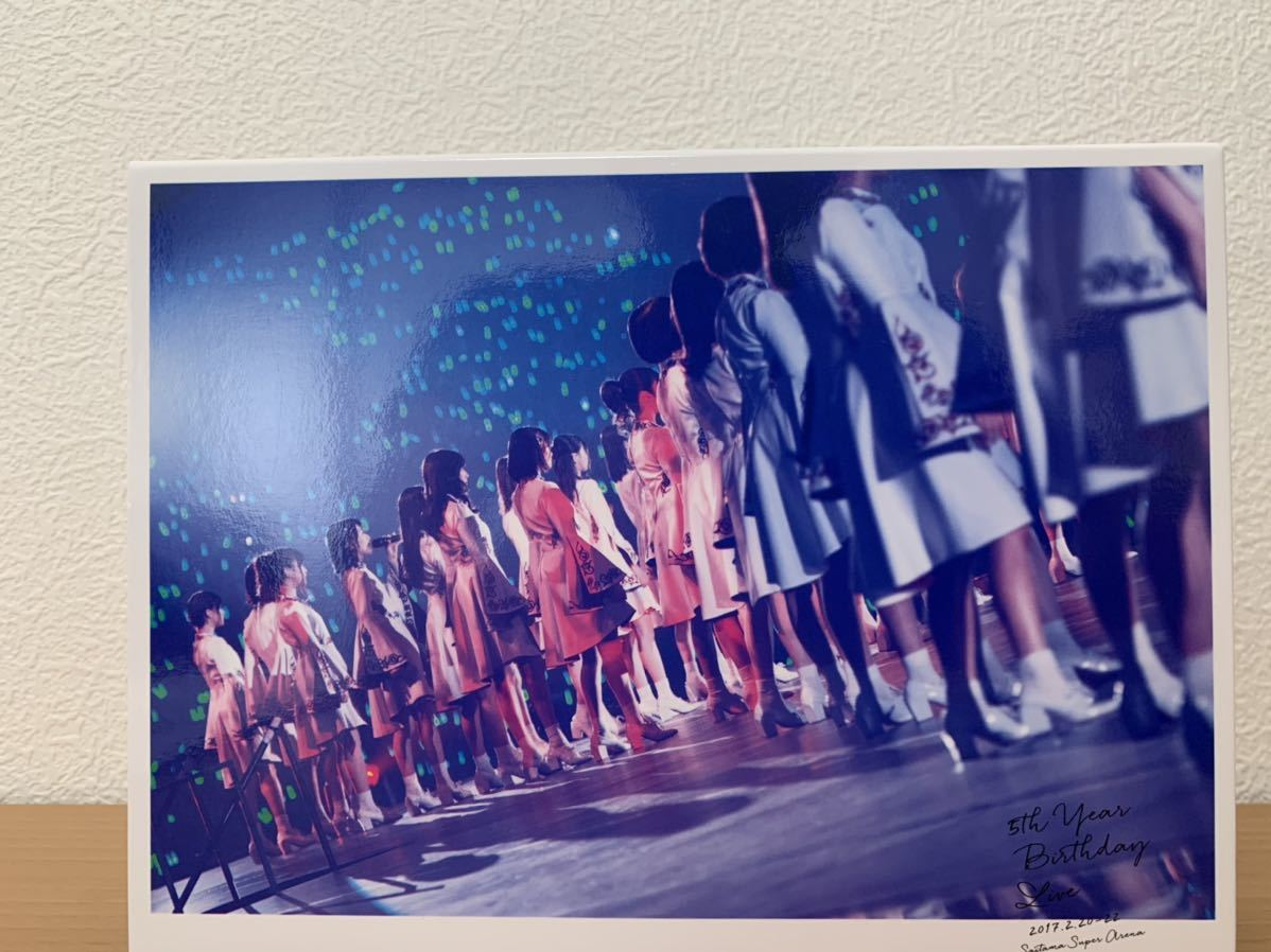 5th YEAR BIRTHDAY LIVE 2017.2.20-22 SAITAMA SUPER ARENA(完全生産限定盤)(DVD)乃木坂46_画像4