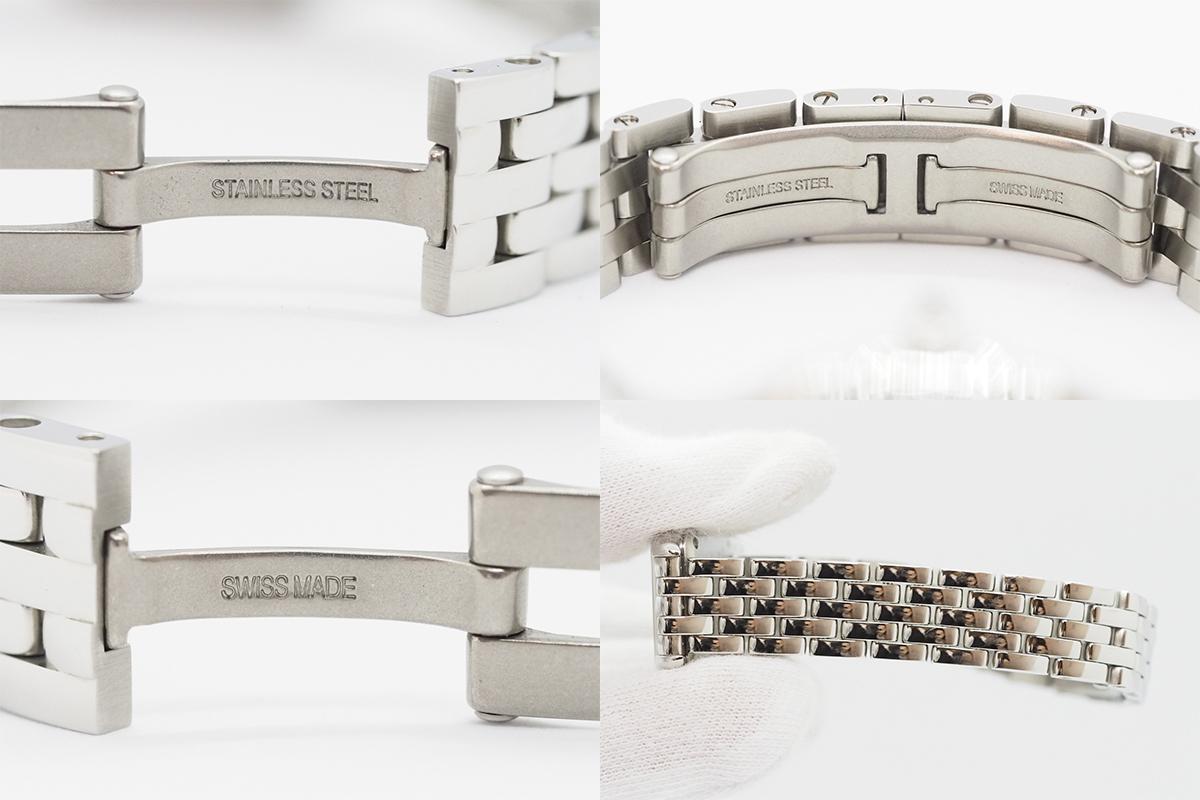 Cartier/カルティエ パンテール ドゥ カルティエ SM WSPN0006 白文字盤 ローマインデックス レディース SS クォーツ 腕時計_画像9