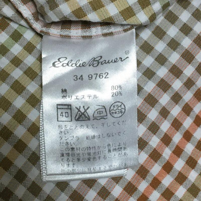 《郵送無料》■Ijinko◆エディーバウアー Eddie Bauer Mサイズ半袖シャツ