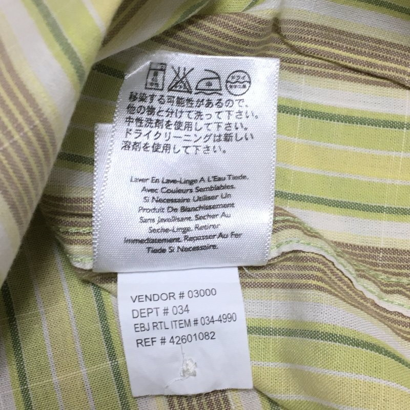 《郵送無料》■Ijinko◆エディーバウアー Eddie Bauer Sサイズ半袖シャツ