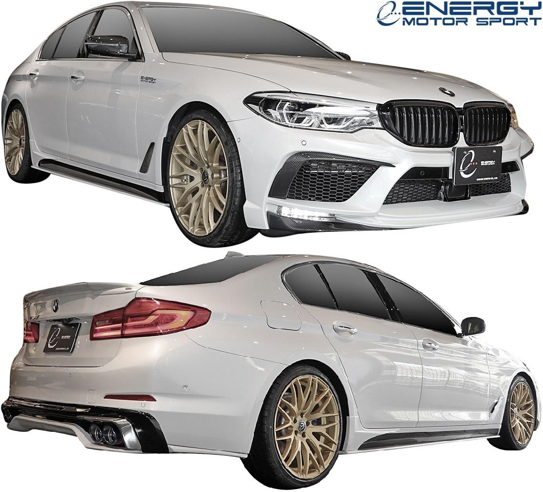 【M's】G30 BMW 5シリーズ セダン (2017y-) ENERGY MOTOR SPORT EVO G30.1 サイドスポイラー + スパッツ LR // エナジーモータースポーツ_画像9