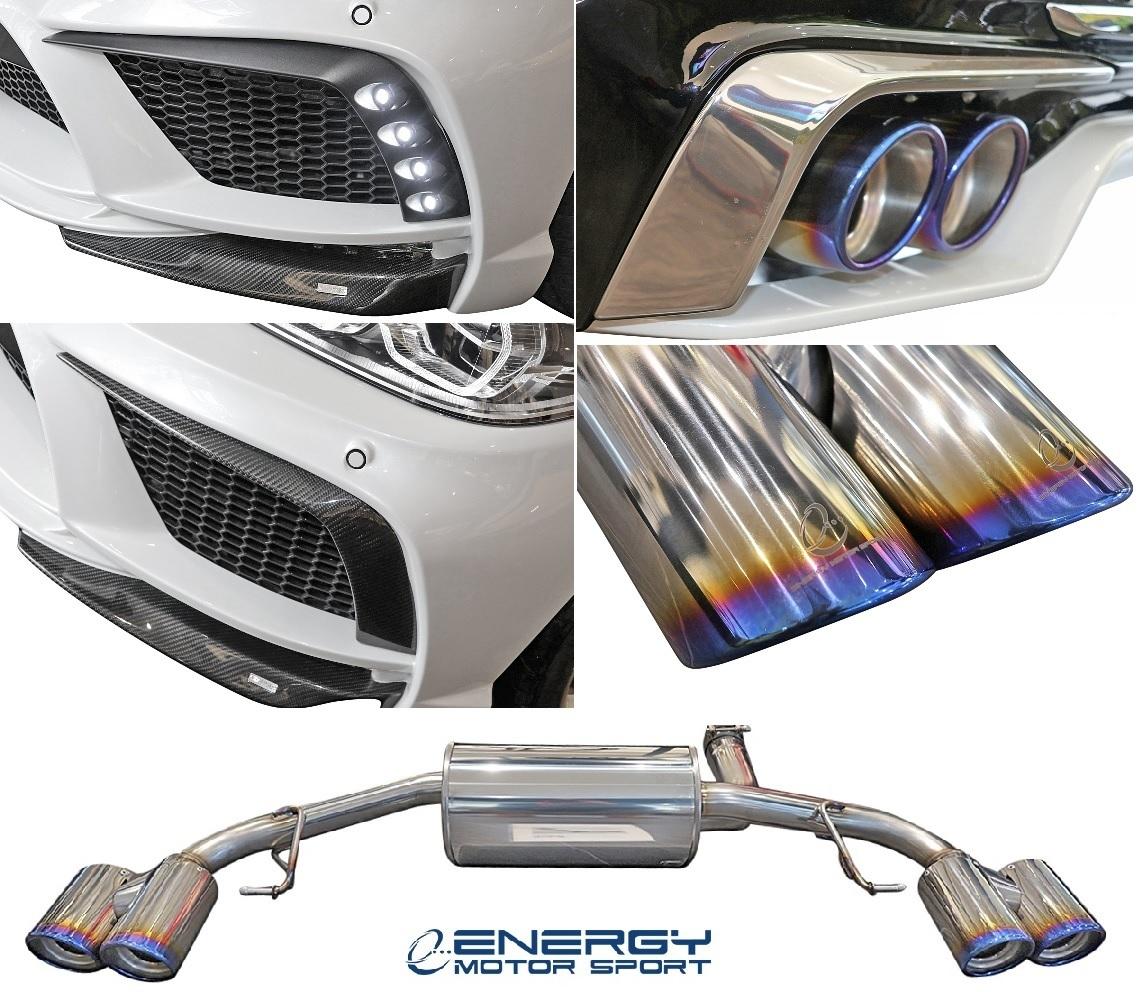 【M's】G30 BMW 5シリーズ セダン (2017y-) ENERGY MOTOR SPORT EVO G30.1 リアアンダースポイラー 3PCS // エナジーモータースポーツ_画像10