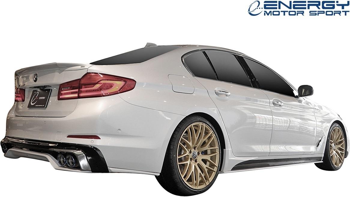 【M's】G30 BMW 5シリーズ セダン (2017y-) ENERGY MOTOR SPORT EVO G30.1 リアアンダースポイラー 3PCS // エナジーモータースポーツ_画像4