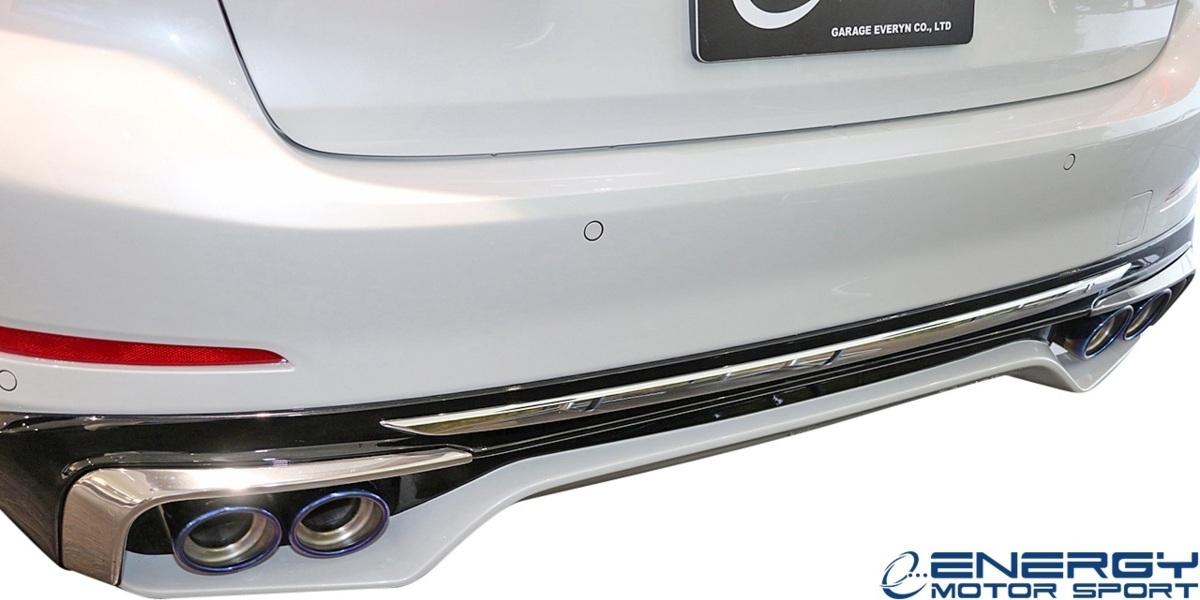 【M's】G30 BMW 5シリーズ セダン (2017y-) ENERGY MOTOR SPORT EVO G30.1 リアアンダースポイラー 3PCS // エナジーモータースポーツ_画像2