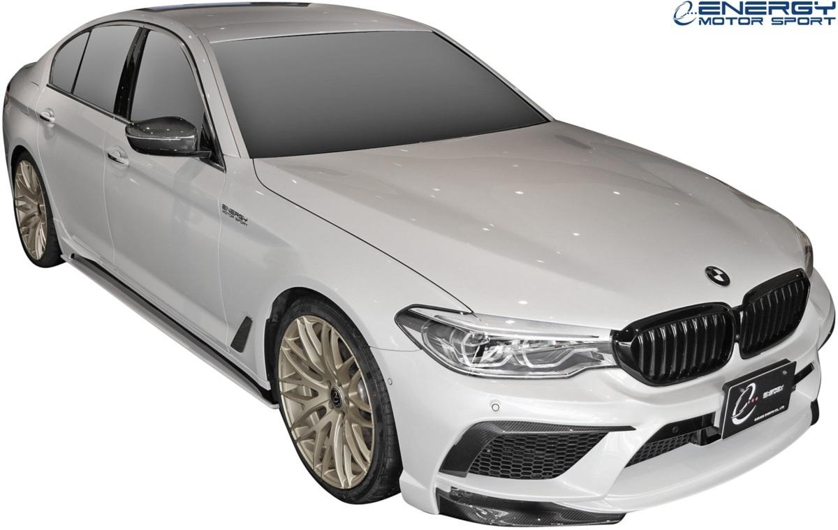 【M's】G30 BMW 5シリーズ セダン (2017y-) ENERGY MOTOR SPORT EVO G30.1 サイドスポイラー + スパッツ LR // エナジーモータースポーツ_画像4