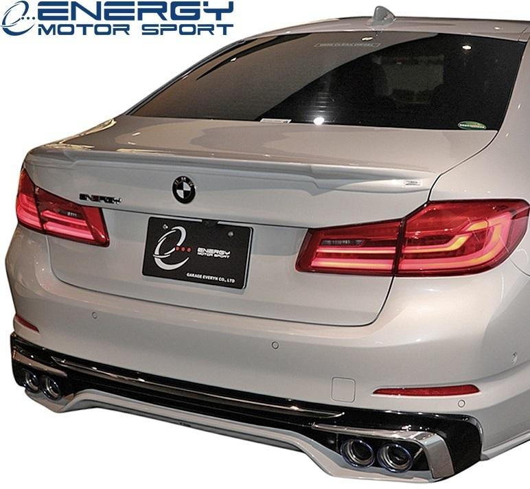 【M's】G30 BMW 5シリーズ セダン (2017y-) ENERGY MOTOR SPORT EVO G30.1 リアアンダースポイラー 3PCS // エナジーモータースポーツ_画像1