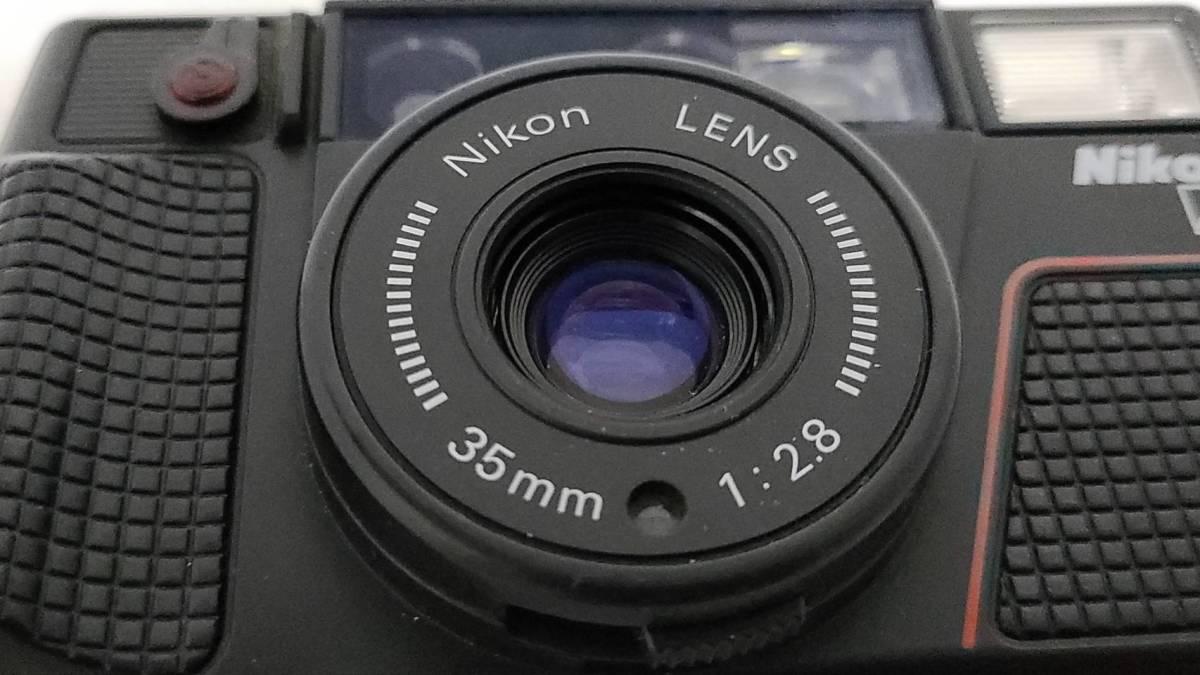 値下げ交渉可♪動作品【NIKONフィルムカメラ】ニコン L35AD2 コンパクトフィルムカメラ ジャンク 送料無料_画像4