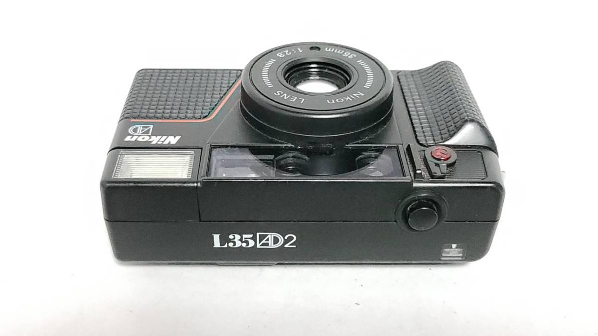 値下げ交渉可♪動作品【NIKONフィルムカメラ】ニコン L35AD2 コンパクトフィルムカメラ ジャンク 送料無料_画像5