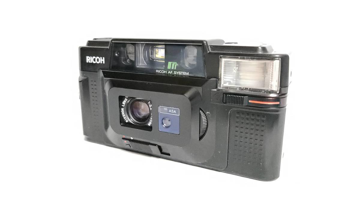 値下げ交渉可♪動作品【RICOHフィルムカメラ】リコー FF-3D AF コンパクトフィルムカメラ ジャンク 送料無料_画像1