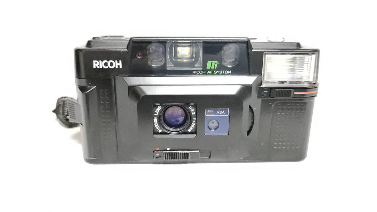 値下げ交渉可♪動作品【RICOHフィルムカメラ】リコー FF-3D AF コンパクトフィルムカメラ ジャンク 送料無料_画像3