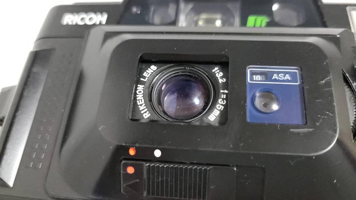 値下げ交渉可♪動作品【RICOHフィルムカメラ】リコー FF-3D AF コンパクトフィルムカメラ ジャンク 送料無料_画像4