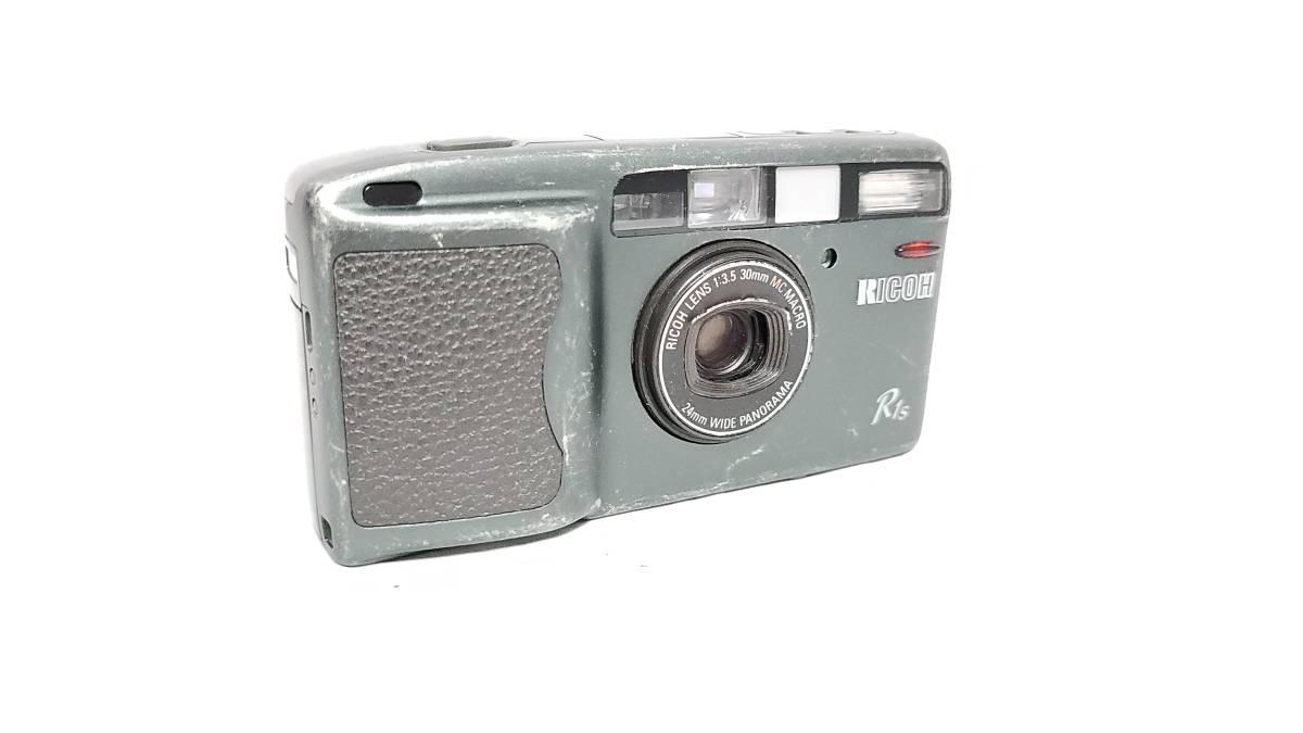 値下げ交渉可♪送料無料♪動作品【RICOHフィルムカメラ】リコー R1S コンパクトフィルムカメラ ジャンク  _画像2