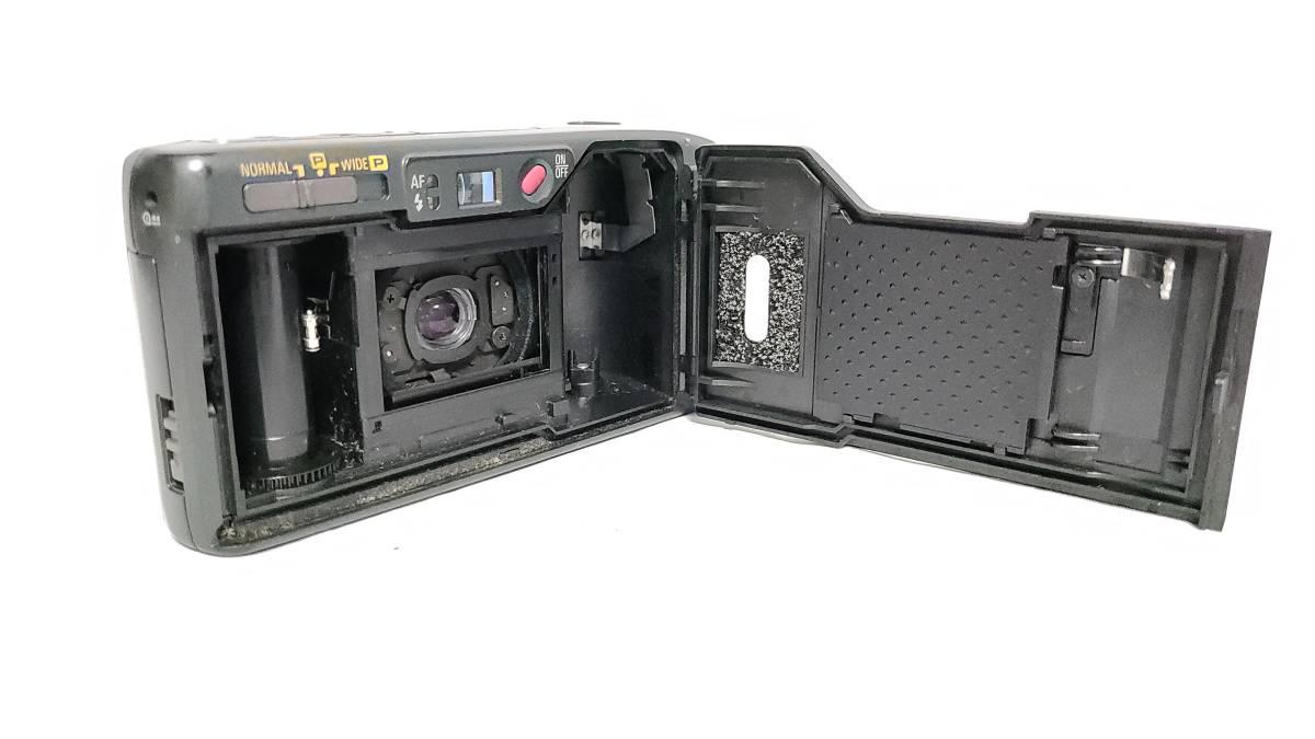値下げ交渉可♪送料無料♪動作品【RICOHフィルムカメラ】リコー R1S コンパクトフィルムカメラ ジャンク  _画像8