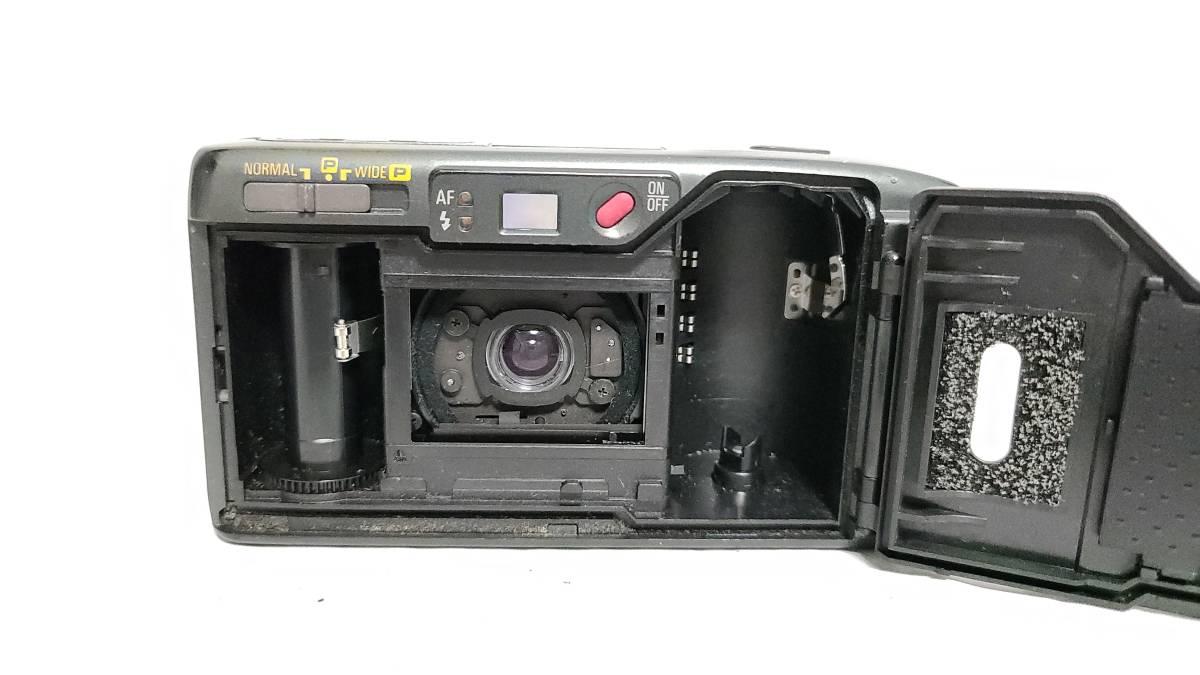 値下げ交渉可♪送料無料♪動作品【RICOHフィルムカメラ】リコー R1S コンパクトフィルムカメラ ジャンク  _画像9