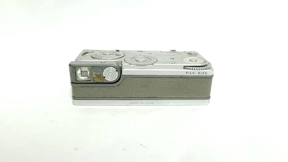 値下げ交渉可♪送料無料♪【mamiya豆カメラ・スパイカメラ】マミヤ MAMIYA-16 AUTOMATIC ジャンク  _画像3