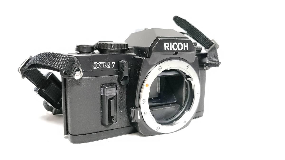 送料無料♪動作品【ricohフィルムカメラ/レンズ】リコー XR7+ RIKENON (リケノン) P 1:2 (f2) 50mm レンズ_画像2
